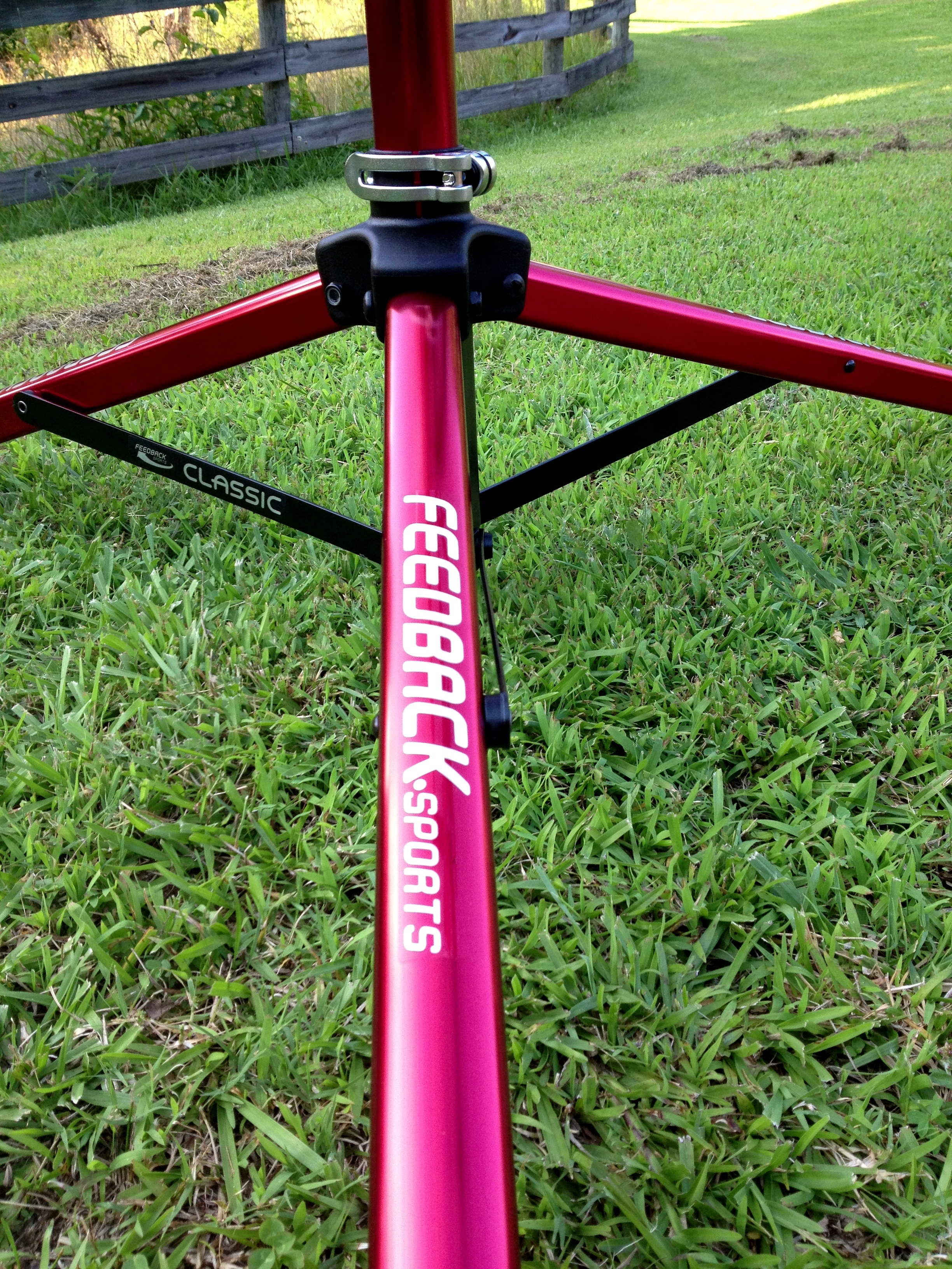 Feedback Sports Classic Repair Stand-Red