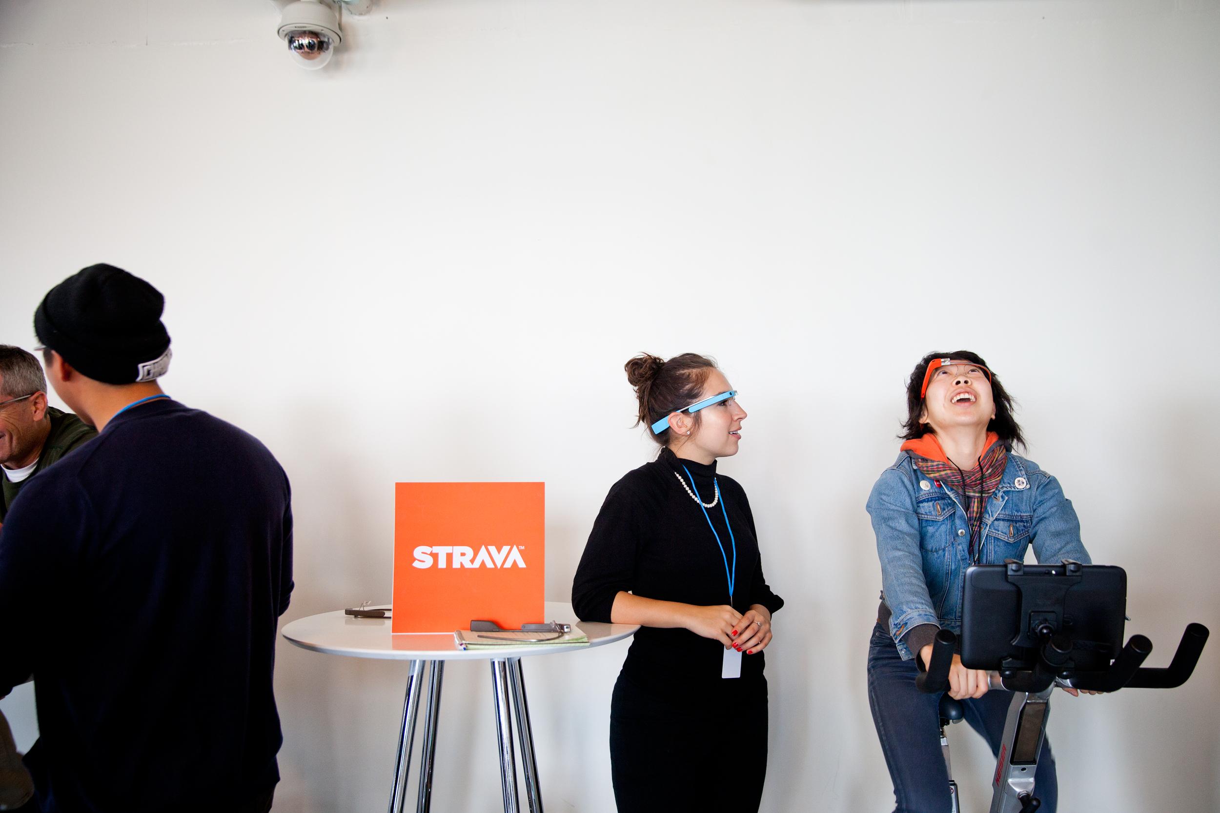 Google Glass GDK announcement event in San Francisco. Photo: Ariel Zambelich/WIRED