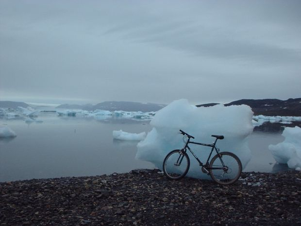 Mountain Biking 750 Miles North of the Arctic Circle in Greenland