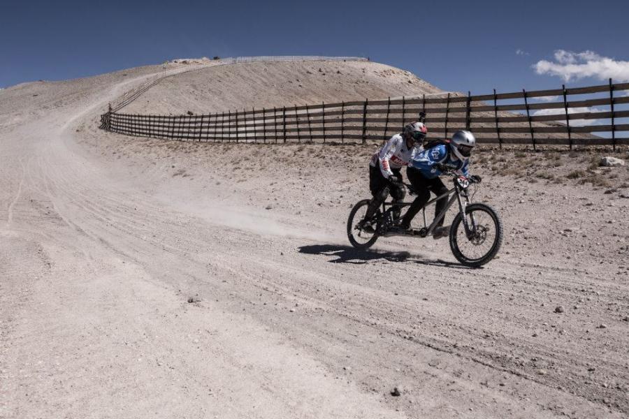 tandem downhill bike