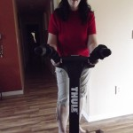 """""""My Thule bike carrier! SWEET!"""" Photo: Michele Popeye."""