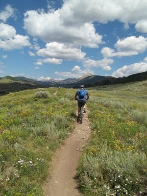 Biking in Crested Butte