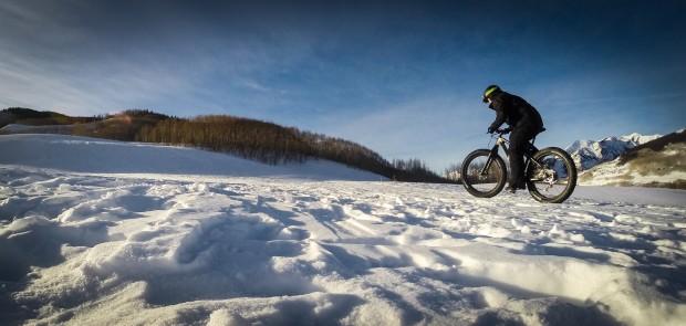 The climb up Snodgrass trail