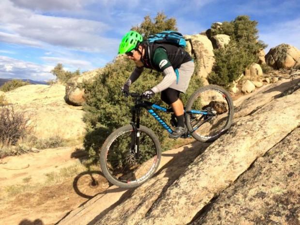 photo: GimmeAraise Rider: mtbgreg1. Trail: Hartman Rocks, Gunnison, Colorado