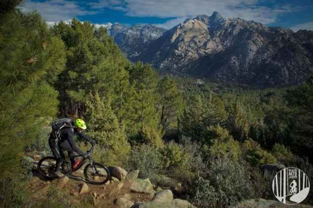 "photo: trackMTB ""After a classical climb in La Pedriza park, near Madrid, we chose to descend by PR-16 trail. if you like enduro, this trail is a must if you come to Spain."""