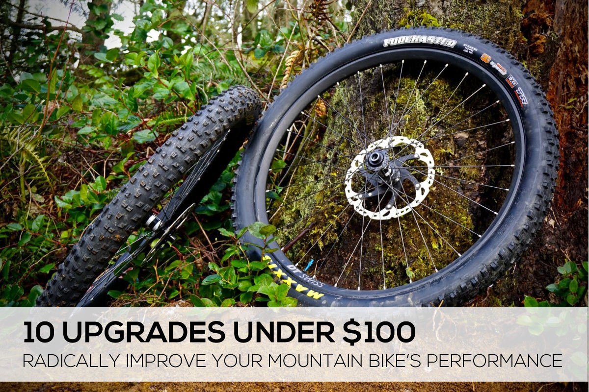 10 mountain bike upgrades under $100