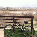 """""""Frankie"""" the commuter bike and I recently took a breezy ride on the riverfront trail."""