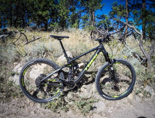 The 2015 Trek Slash Carbon 650b. 'nuff said.