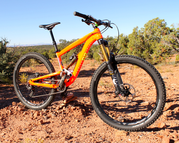 Review Diamondback Mission Pro 27 5 Singletracks