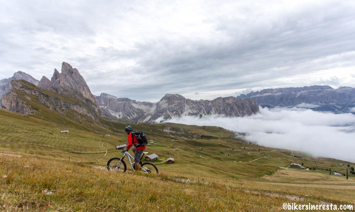 Video Mountain Biking In Val Gardena Italy