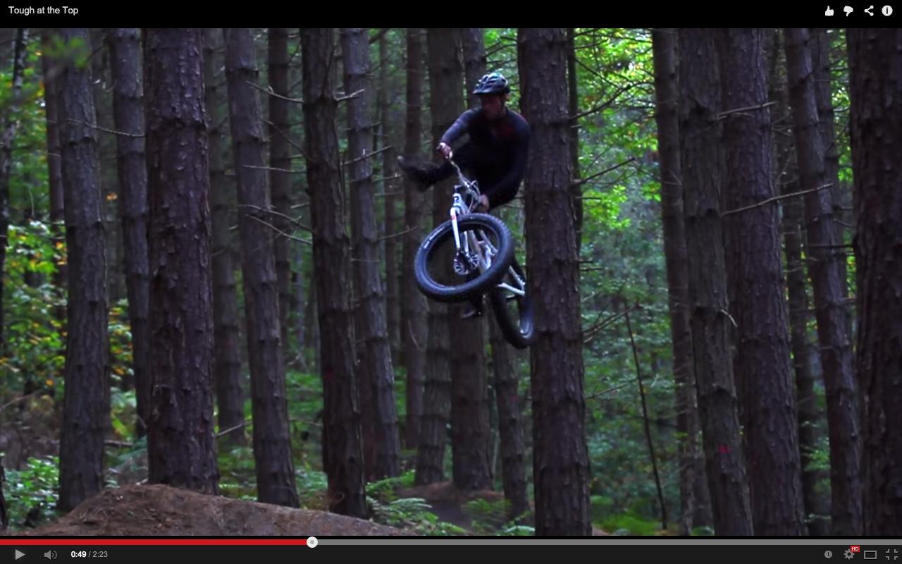 video  shredding on the world u0026 39 s first 24 u0026quot  fat bike