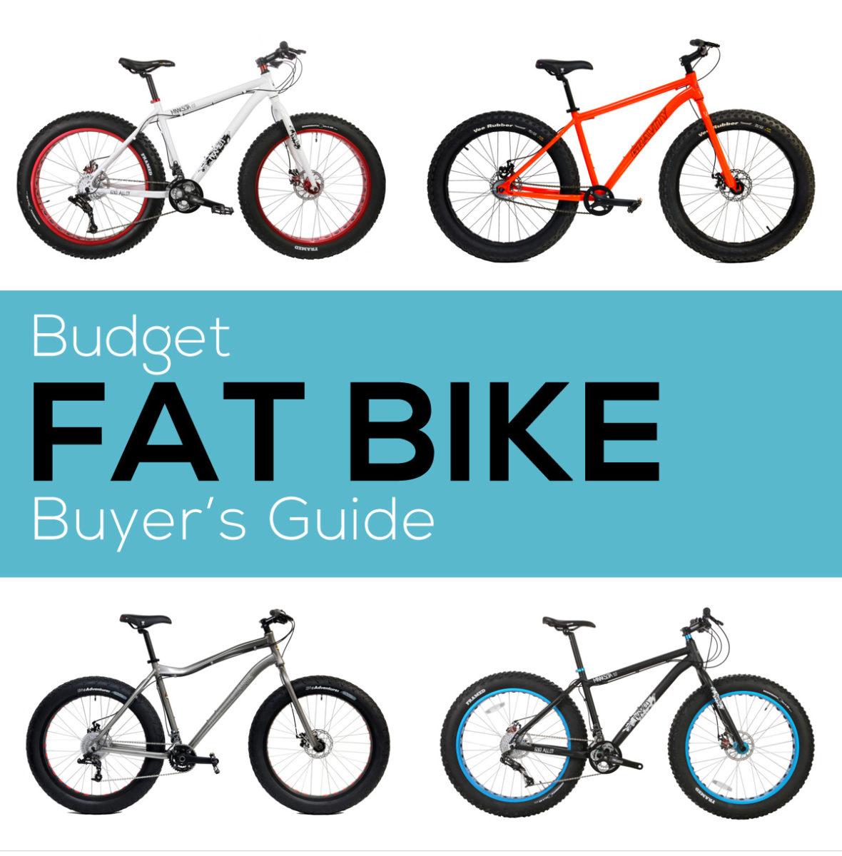 Buyer's Guide: Budget Fat Bikes Under $1500