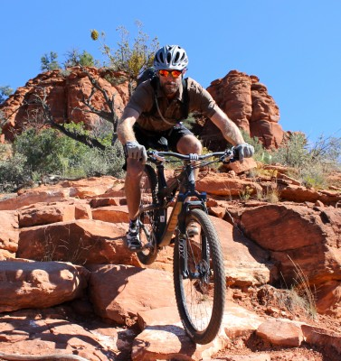 """One benefit of owning your own tour company is getting to ride your bike for four days straight and call it """"work."""""""
