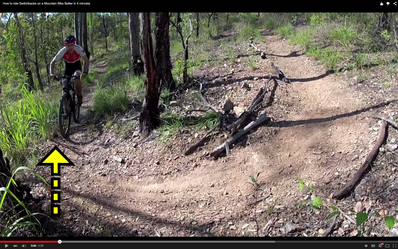"""""""How to ride Switchbacks on a Mountain Bike Better in 4 minutes"""""""
