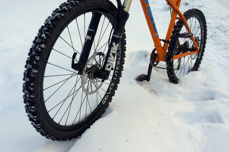 Review  Nokian Extreme 294 Studded Tires  Winter Riding Without the Fat Bike  Price  6b9444a8b