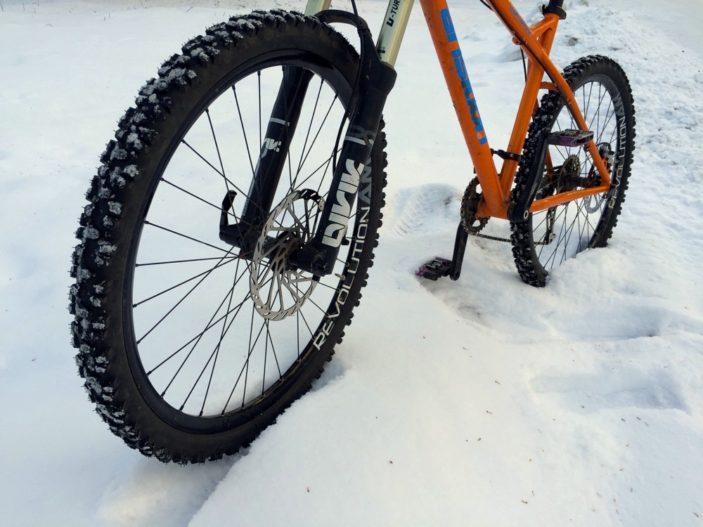 mountainbike snow winter extreme-#50
