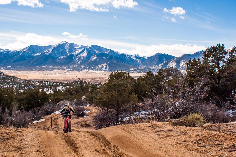 Ride Report Fat Biking Fourmile In Buena Vista Colorado