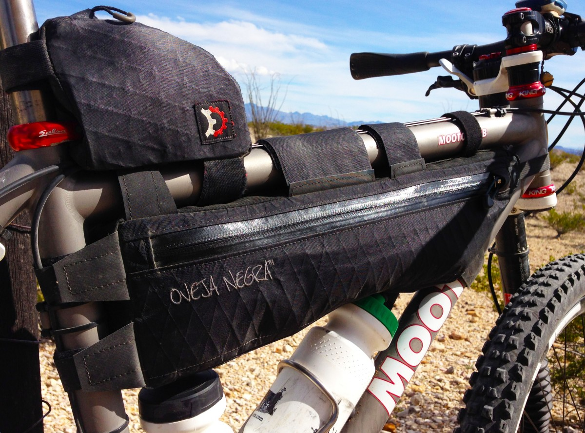 The Benefits of Mountain Biking with Frame Bags
