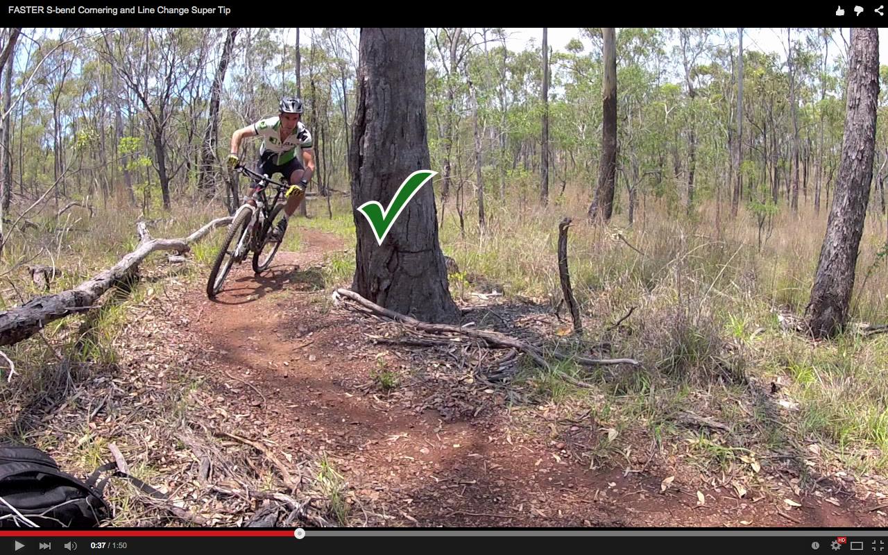 Video: Faster S-bend Cornering and Line Change Super Tip - Singletracks Mountain Bike News