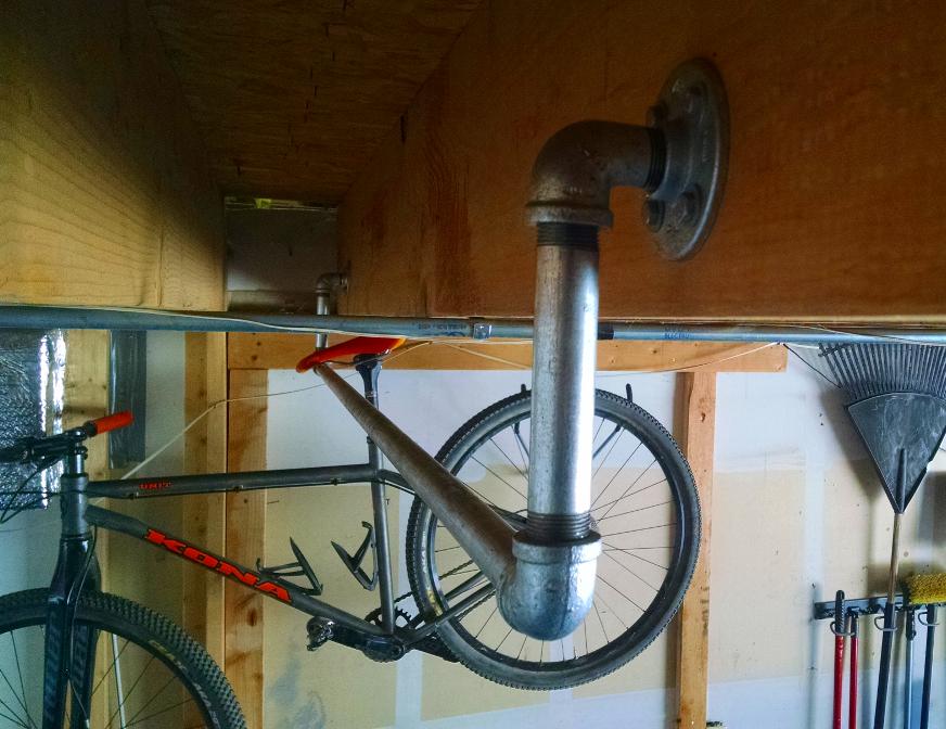 Diy How To Build A Hanging Bike Rack Singletracks
