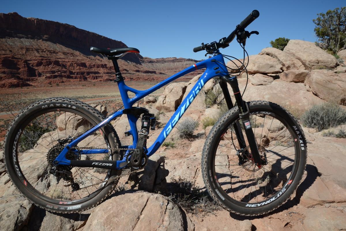 Test Ride Review Fezzari Timp Peak Singletracks