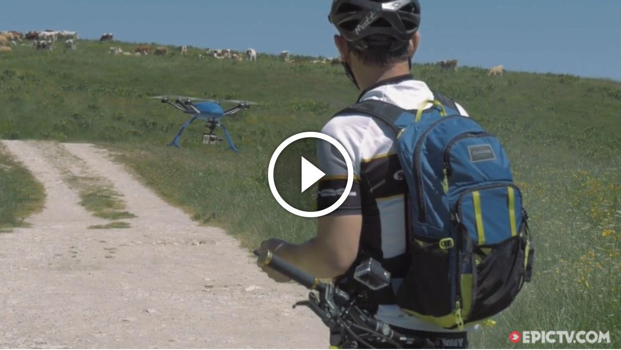 Amazing New HEXO+ Autonomous Drone Follows You, Provides The Ultimate Aerial Selfie