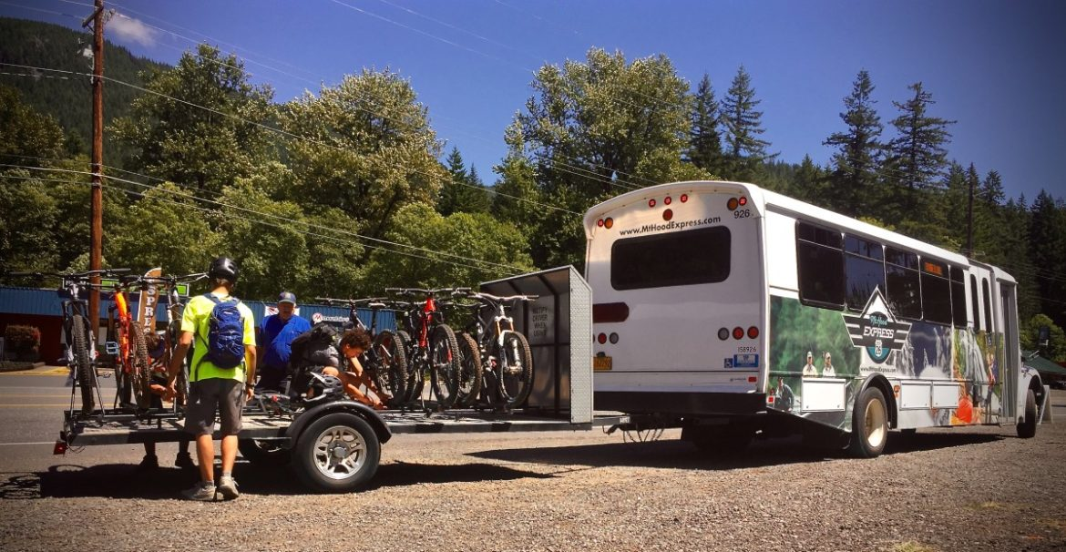 Mount Hood Express MTB Shuttle, photo: Chris Daniels