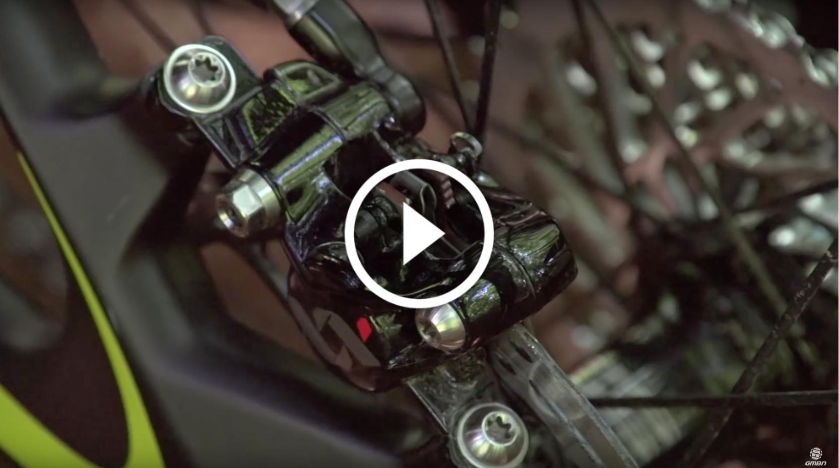 video how to change mountain bike disc brake pads trailside singletracks mountain bike news. Black Bedroom Furniture Sets. Home Design Ideas
