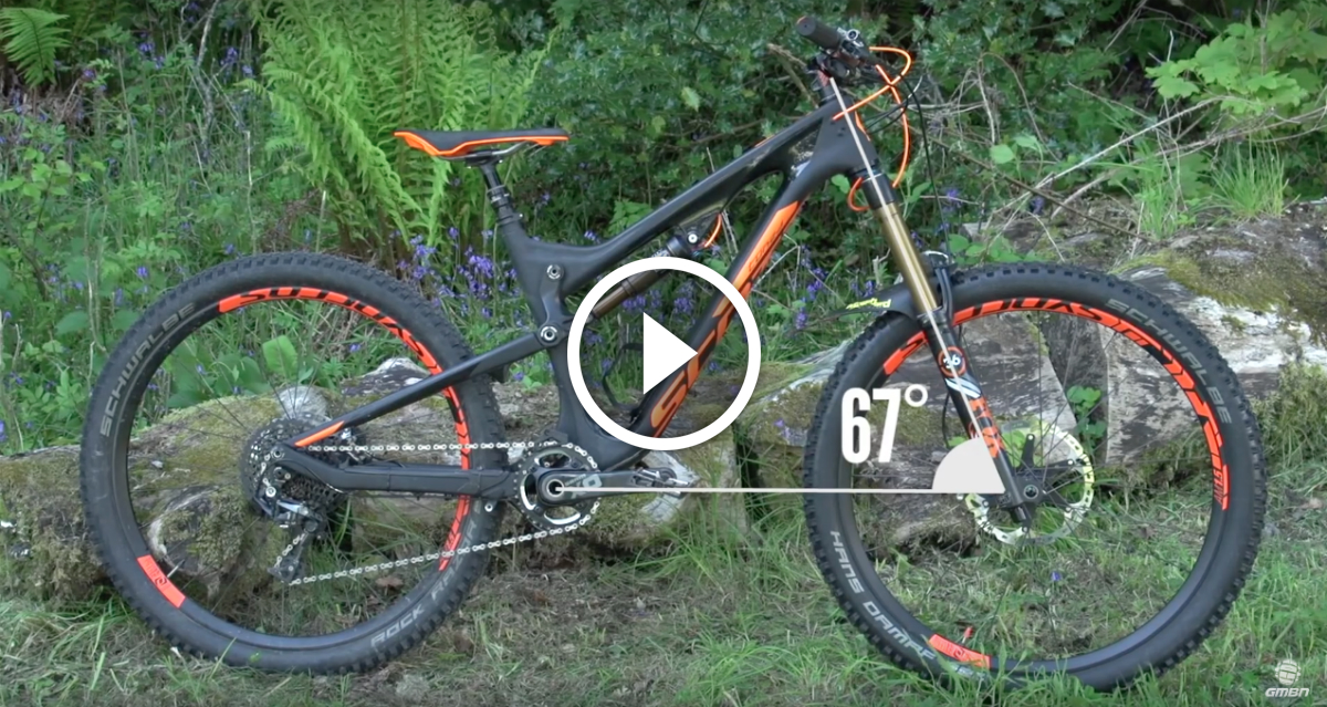 Video: Bike Geometry - Head Angle and Bottom Bracket Height ...