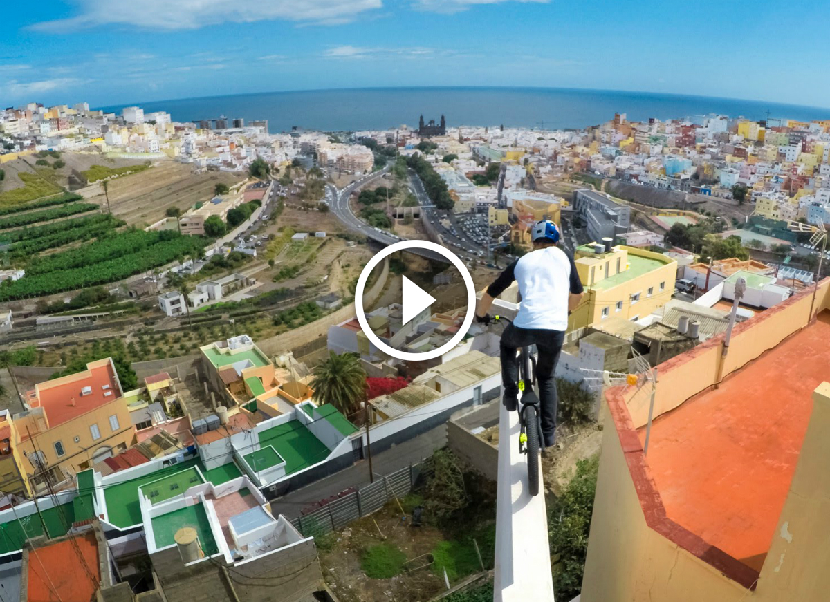 MUST WATCH: Danny MacAskill Shreds the Rooftops of Cascadia
