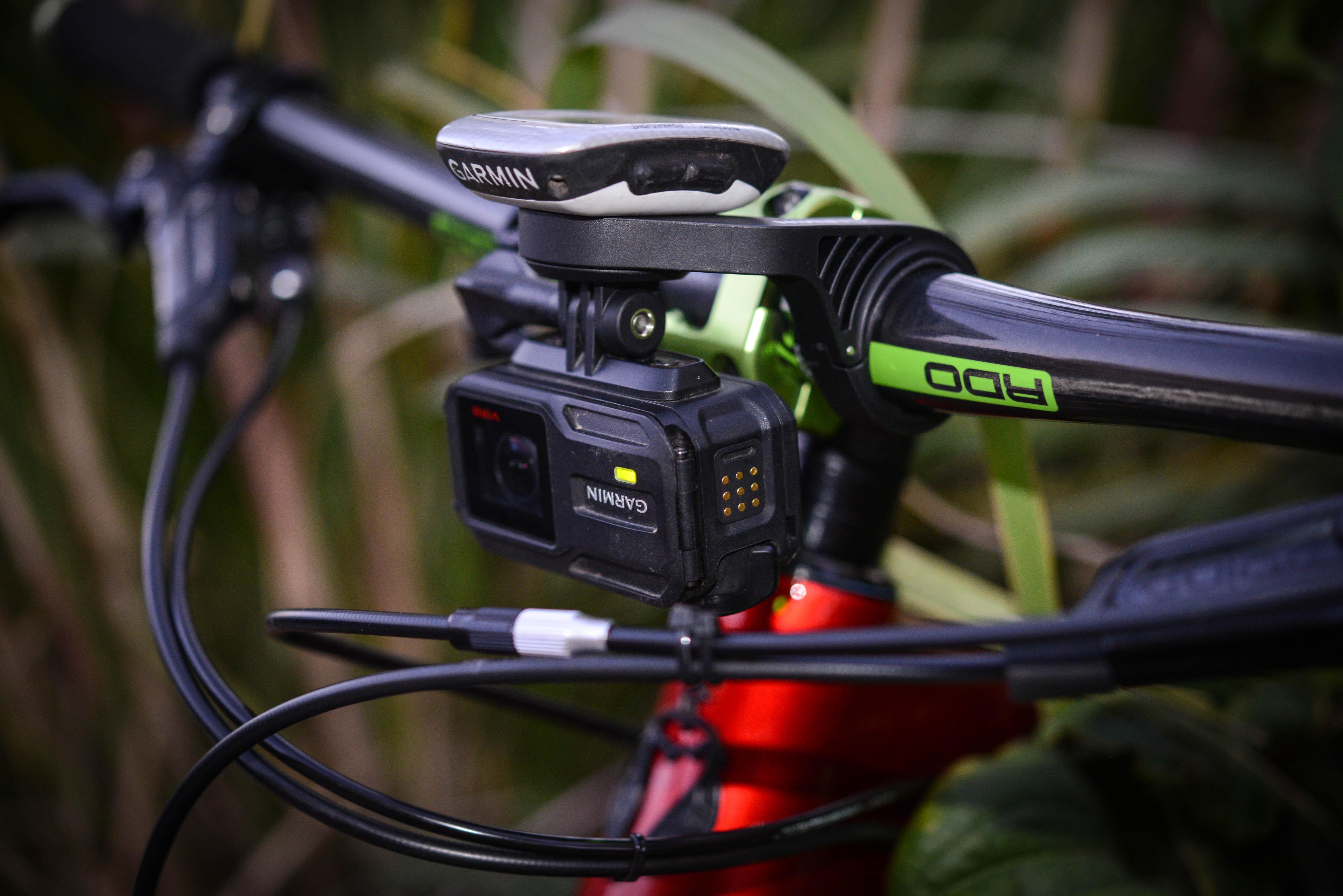 Garmin Combo Mount Review Singletracks Mountain Bike News