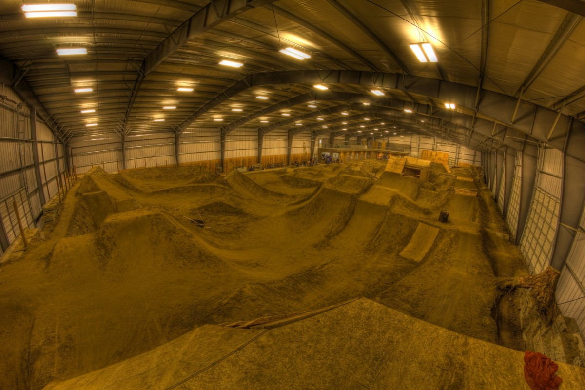 The Indoor Gardener: 9 Great North American Indoor MTB Parks To Mix Up Your