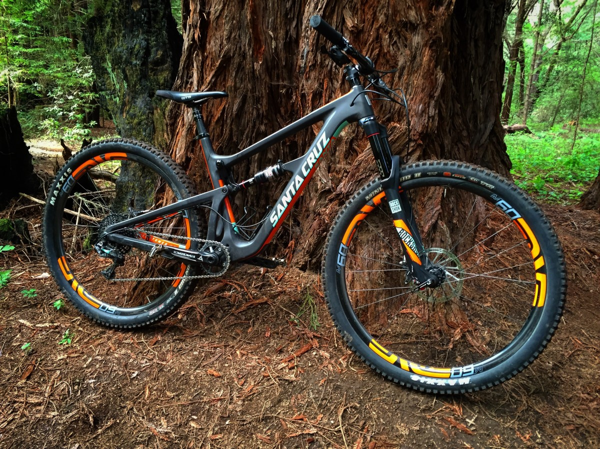 Santa Cruz Hightower Test Ride Review - Singletracks