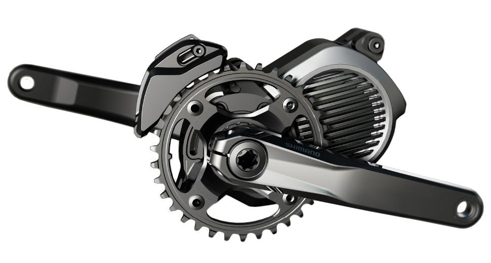 Shimano Announces Ebike Drivetrain Motor Built For