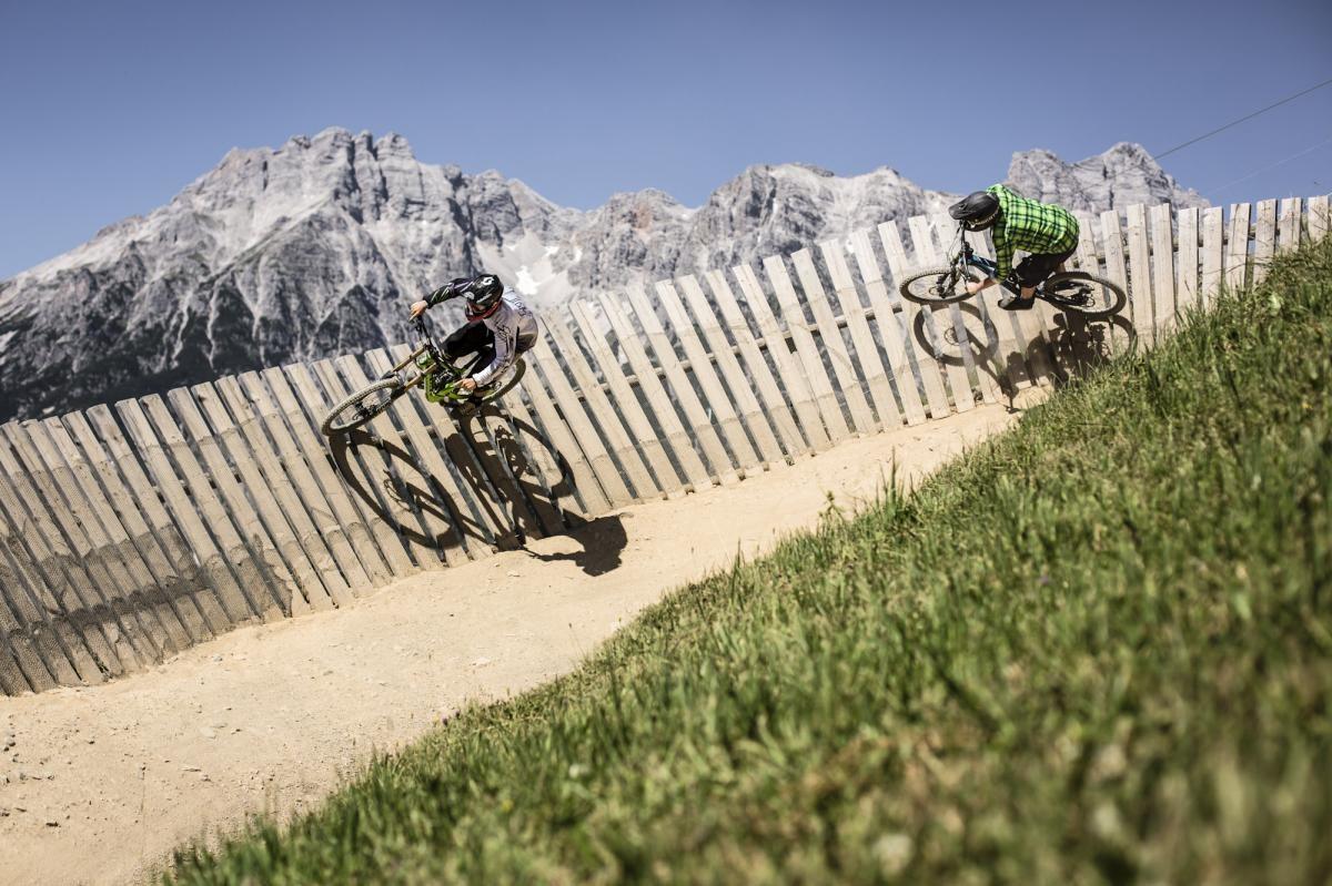 Bikepark Leogang, Austria. Photo courtesy of Bikepark Leogang
