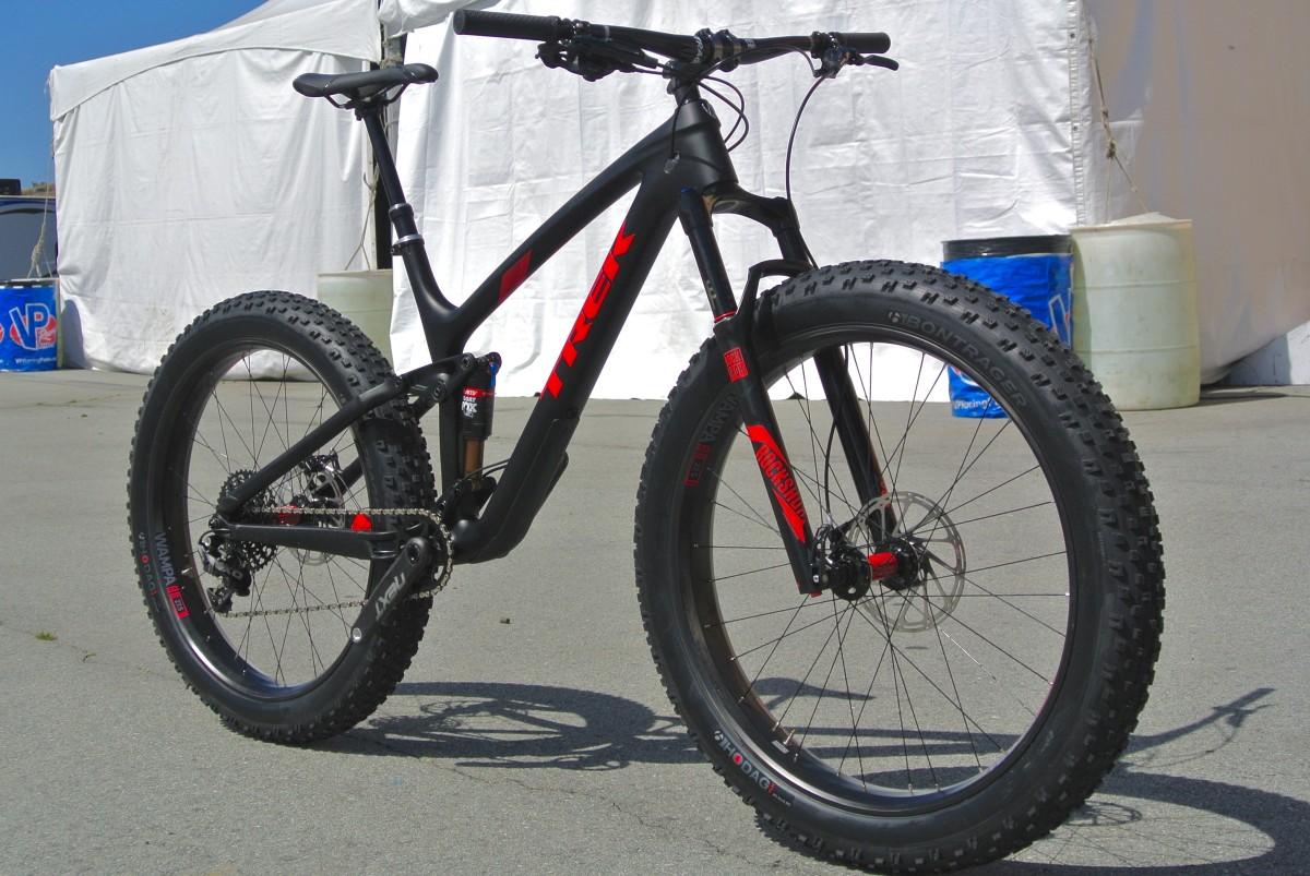 Trek Launches All-New Full Suspension Fat Bike: The Farley EX ...