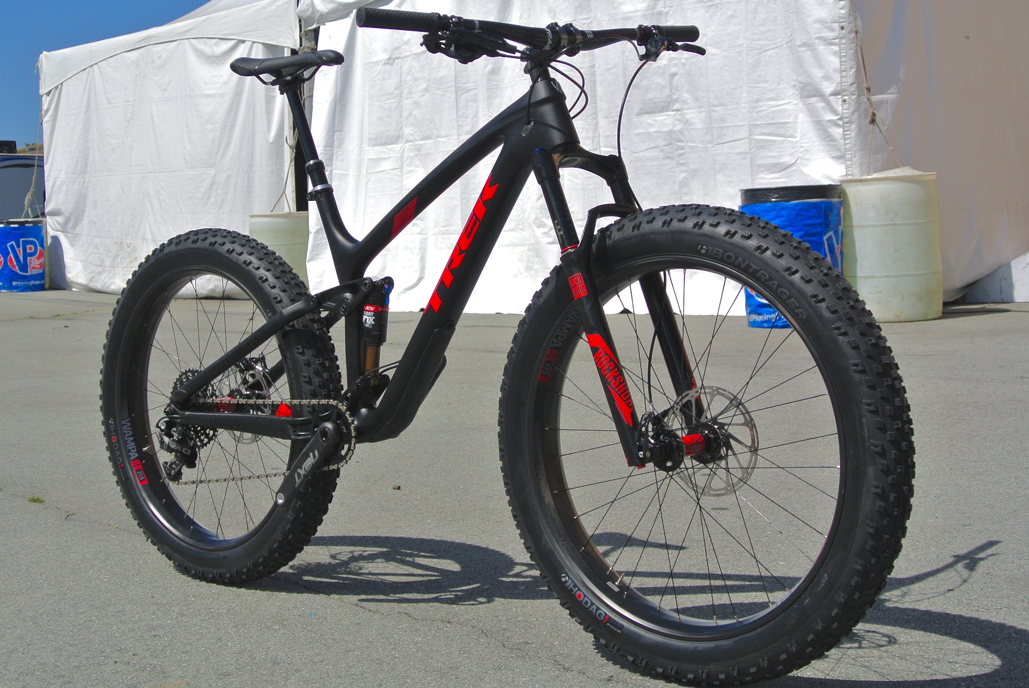 Trek Launches All New Full Suspension Fat Bike The Farley Ex