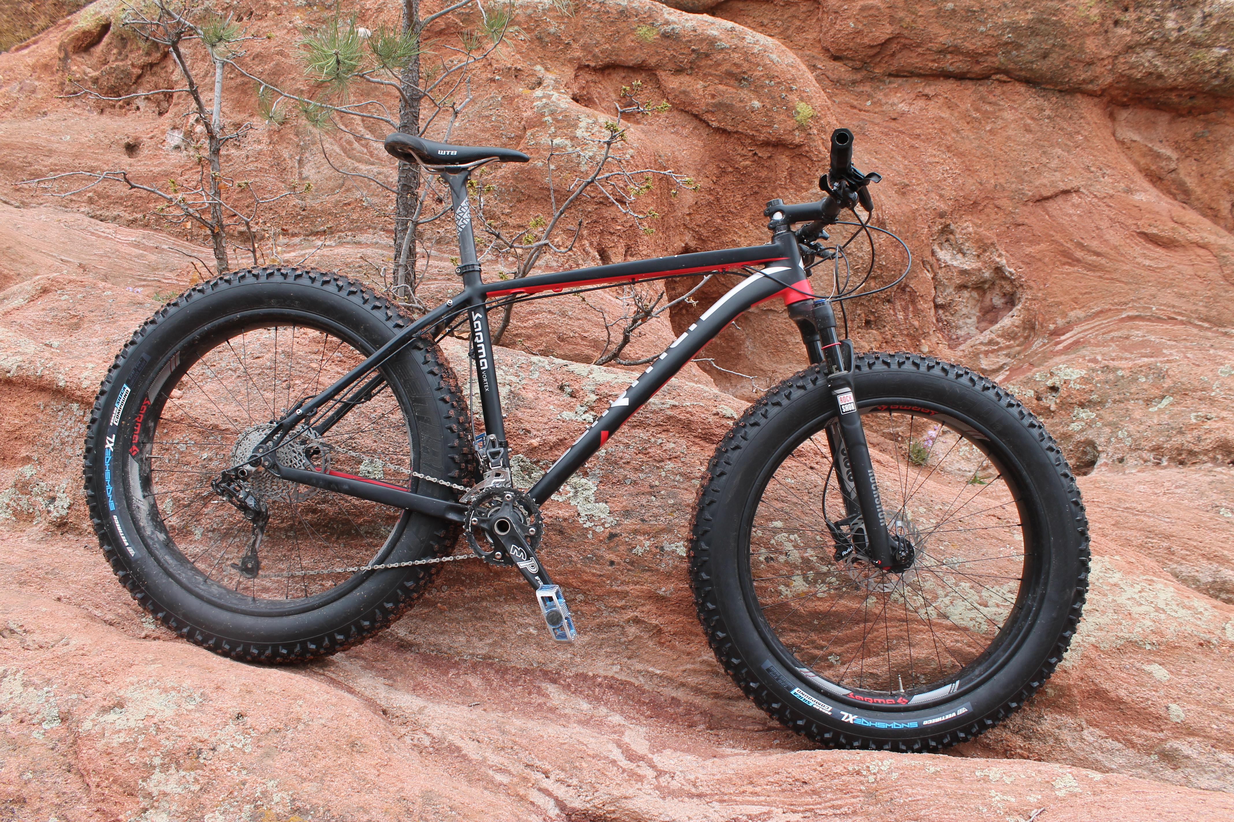 Sarma Vortex 1.0 Fat Bike Review - Singletracks Mountain Bike News