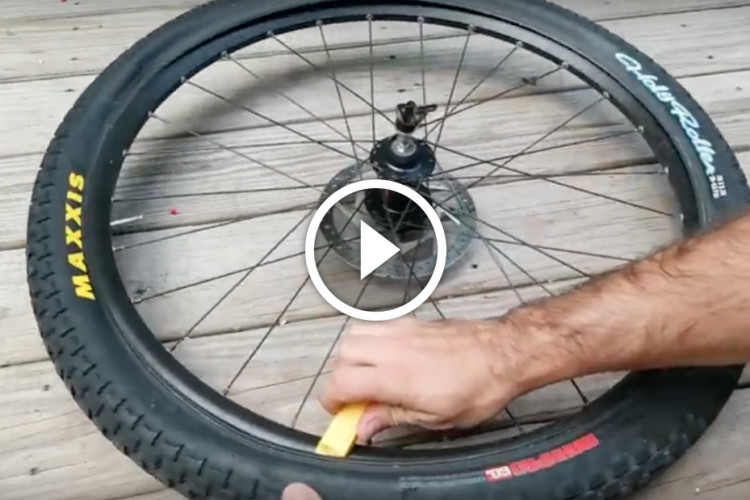 Trailside Repairs Fixing A Flat Tire Singletracks Mountain Bike News