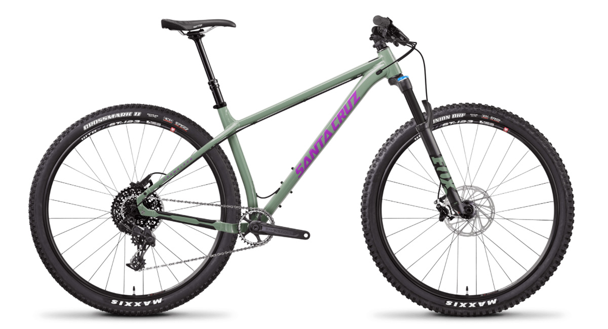 Santa Cruz Chameleon hardcore hardtail mountain bike