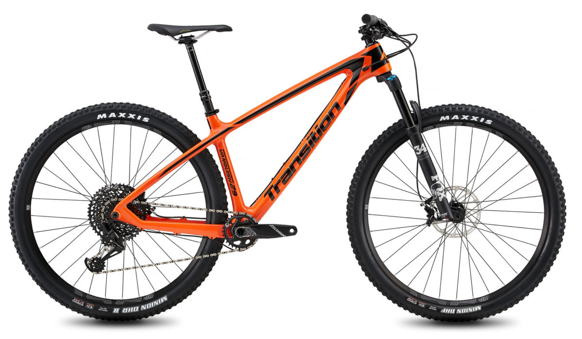 Transition Vanquish Hardcore Hardtail mountain bike