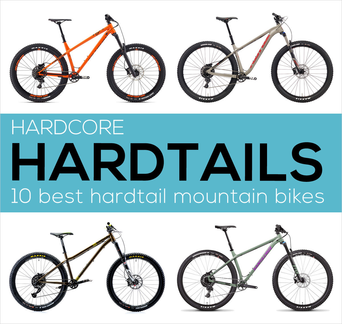 Hardcore hardtail mountain bikes