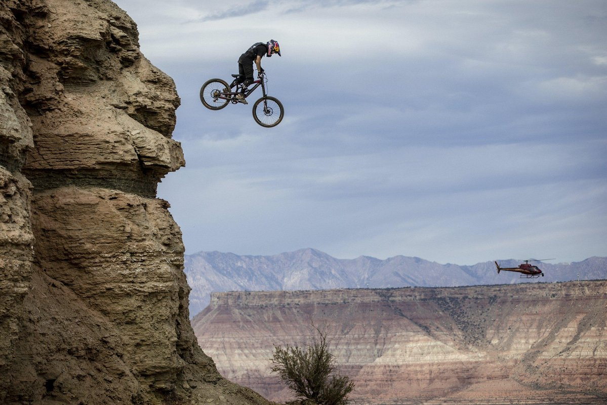Red Bull Rampage 2015: Andreu Lacondeguy © Christian Pondella / Red Bull Content Pool