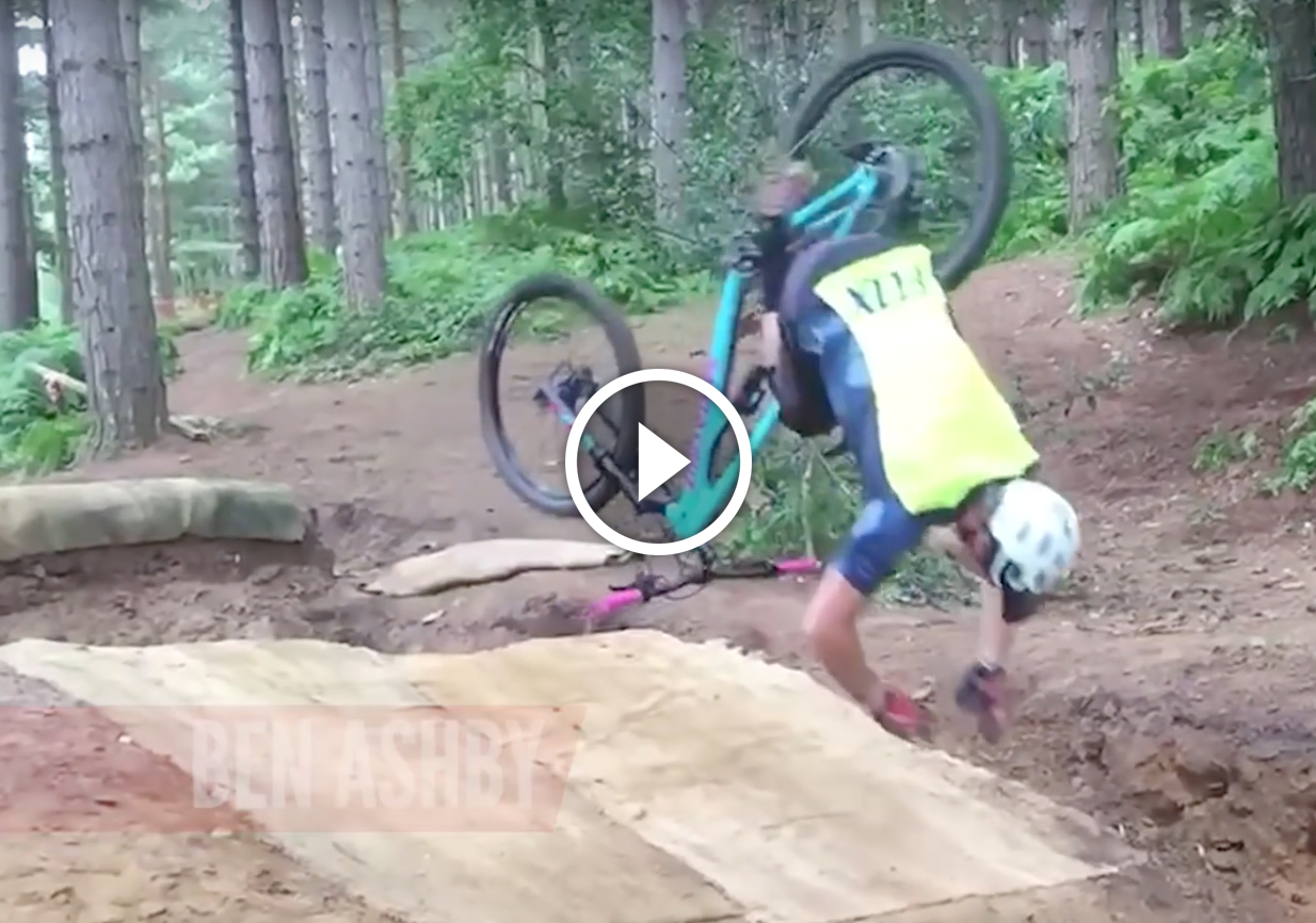 Watch 10 Hilarious Mtb Fails Singletracks Mountain