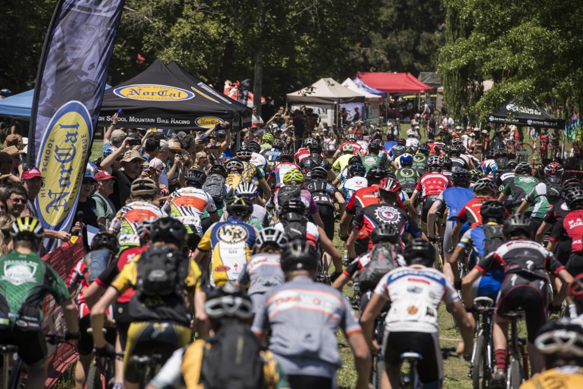 High School Mountain Bike Championships in Novato California, 2013.  Photo by Karl Nielsen Photography www.karlnielsenphotography.com