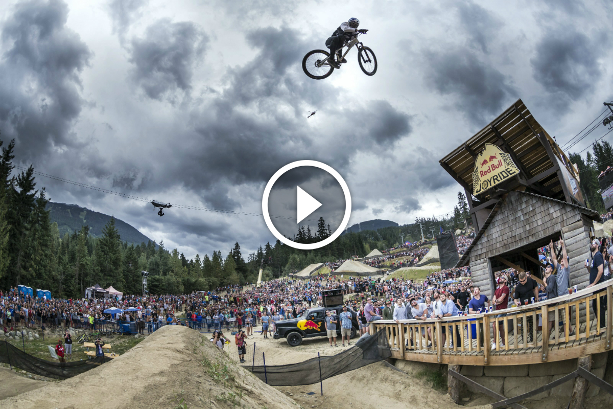 Watch Thomas Genon S 2nd Place Run At Red Bull Joyride