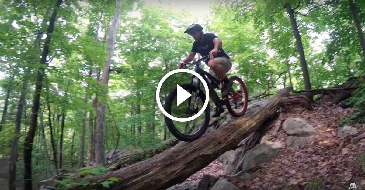Watch Mountain Biking In New Jersey The Rock Garden