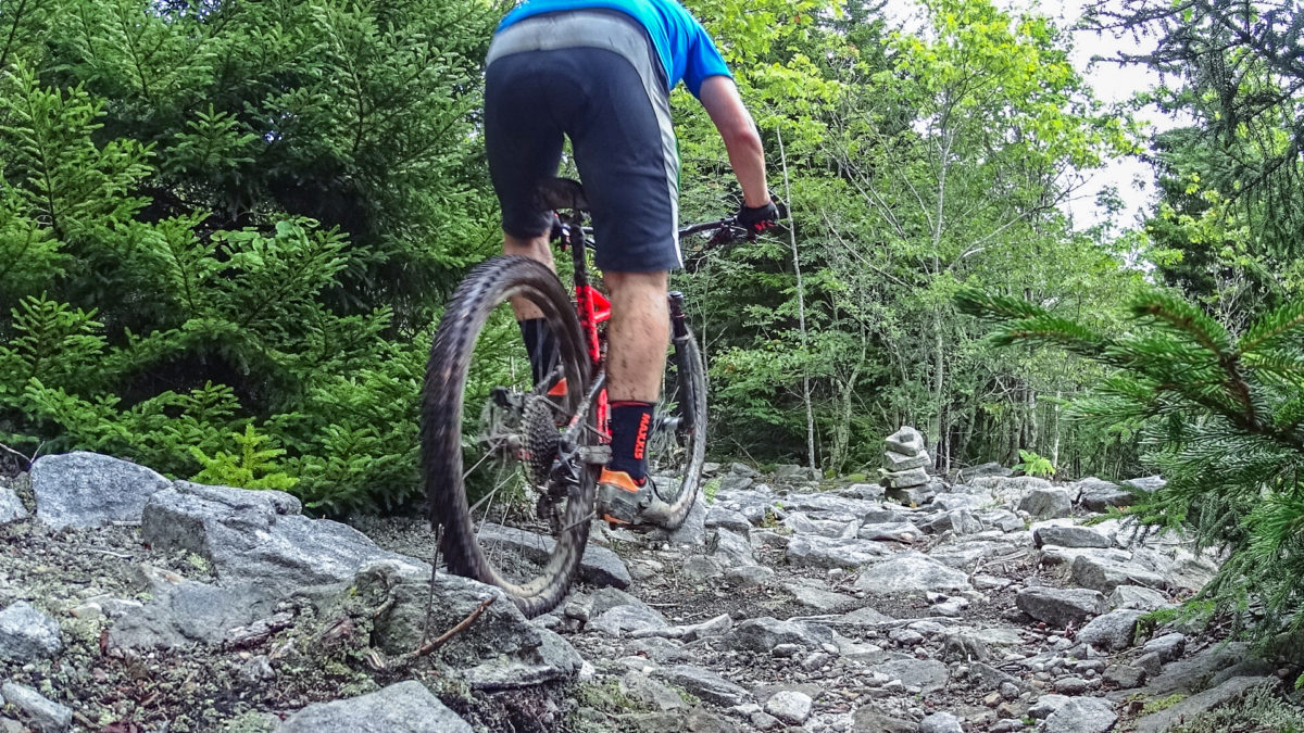 Mountain Bike Skills learn how to balance your weight