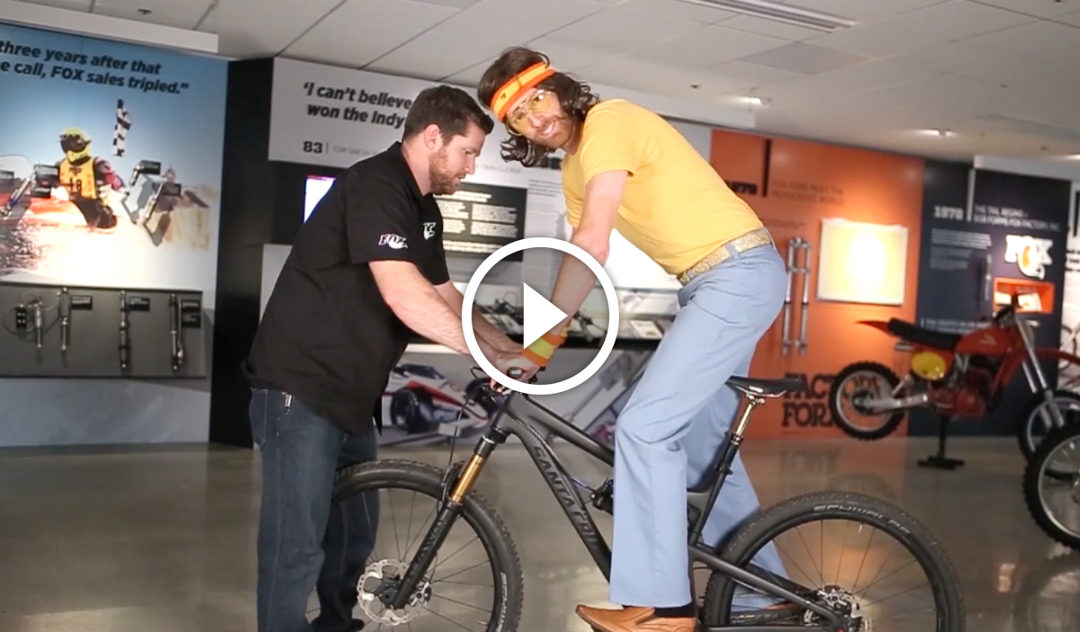 Watch How To Setup Your Mountain Bike S Suspension Sag