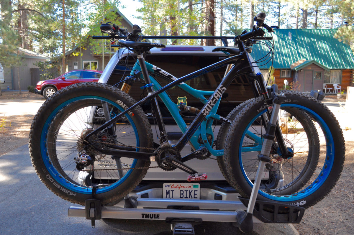 The Thule T2 Turns Pro A Bike Rack Review Singletracks